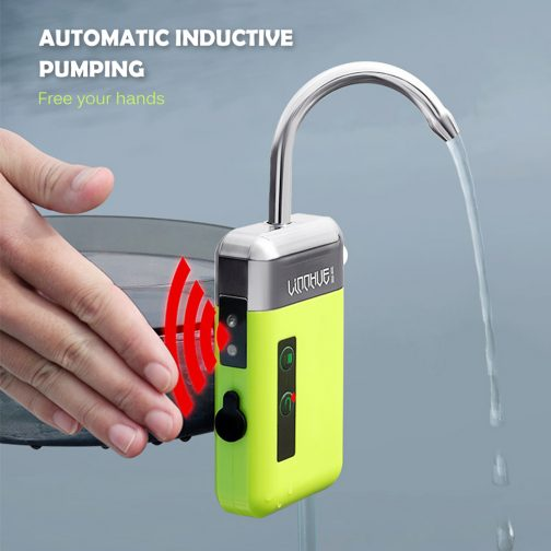 3-in-1 Automatic Outdoor Water Suction & Oxygen Pump Device
